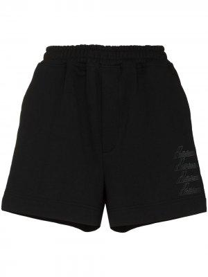 Спортивные шорты с логотипом We11done. Цвет: черный
