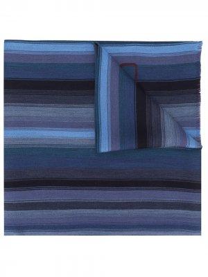 Длинный шарф в полоску Etro. Цвет: красный