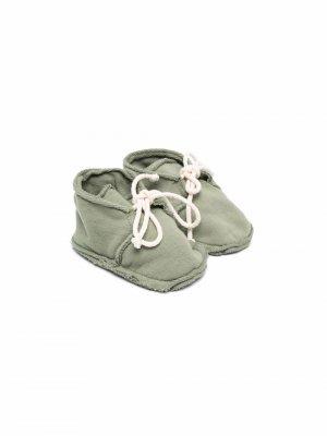 Ботинки на шнуровке Babe And Tess. Цвет: зеленый