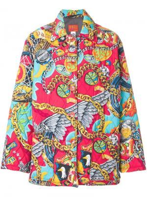 Дутое пальто Jungle Kenzo Pre-Owned. Цвет: красный