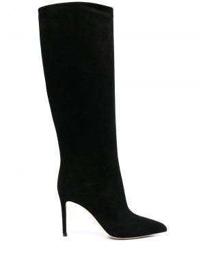 Сапоги с заостренным носком Gucci. Цвет: черный