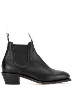 Ботинки челси Adelaide R.M.Williams. Цвет: черный