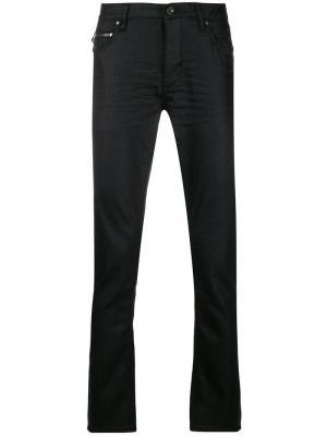 Slim-fit trousers John Varvatos. Цвет: черный