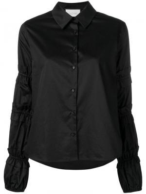 Структурированная рубашка Alexis. Цвет: черный