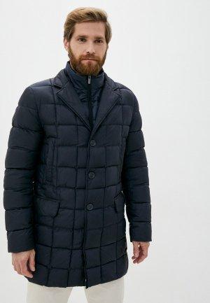 Куртка утепленная Madzerini. Цвет: черный