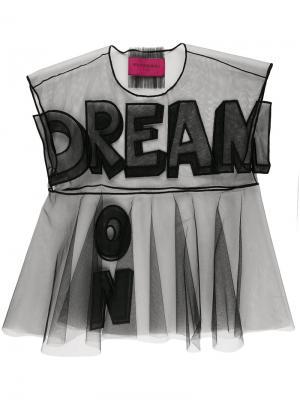Футболка Dream On. Icon 1.2 Viktor & Rolf. Цвет: черный