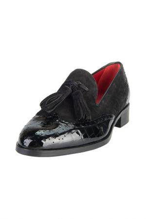 Туфли PERTINI. Цвет: черный