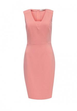 Платье adL. Цвет: коралловый