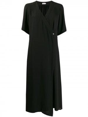 Длинное платье Amalia с завязками Filippa K. Цвет: черный