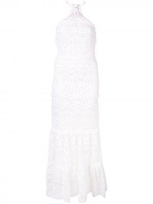 Вечернее платье Yvonna Alexis. Цвет: белый