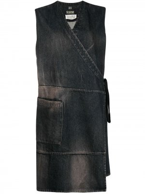 Джинсовое платье 1990-х годов Maison Martin Margiela Pre-Owned. Цвет: серый