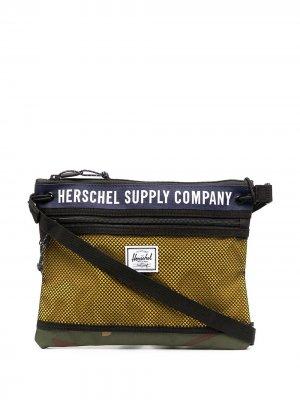Сумка-мессенджер Alder Athletics Herschel Supply Co.. Цвет: черный
