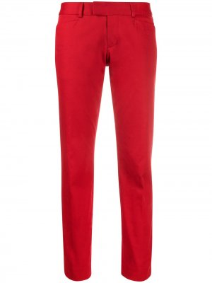 Прямые брюки с заниженной талией Dsquared2. Цвет: красный