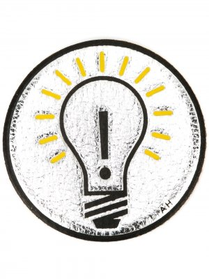 Стикер Light Bulb Anya Hindmarch. Цвет: золотистый
