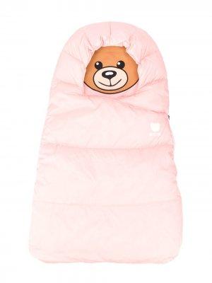 Спальный конверт Teddy Bear Moschino Kids. Цвет: розовый