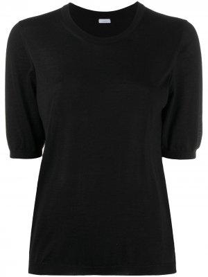 Трикотажная рубашка Malo. Цвет: черный