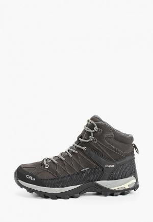 Ботинки трекинговые CMP. Цвет: черный