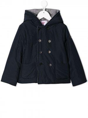 Двубортный пиджак Il Gufo. Цвет: синий
