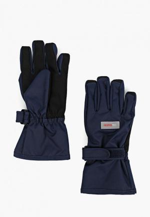 Перчатки Reima. Цвет: синий