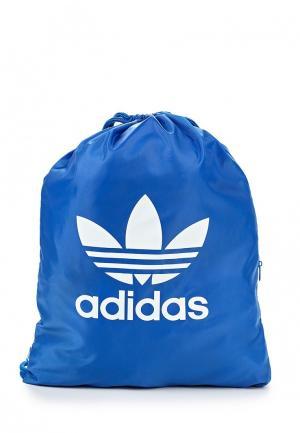 Мешок adidas Originals. Цвет: синий