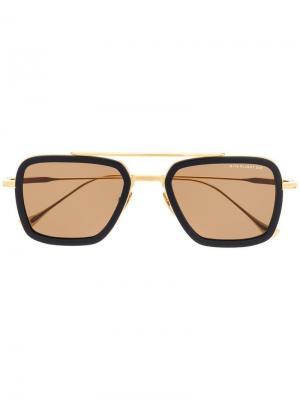 Солнцезащитные очки Flight 006 Dita Eyewear. Цвет: золотистый