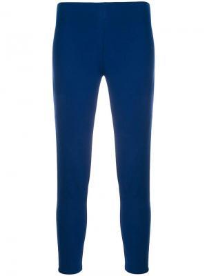 Укороченные джинсы скинни Joseph. Цвет: синий