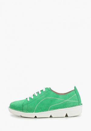 Кеды El Tempo. Цвет: зеленый