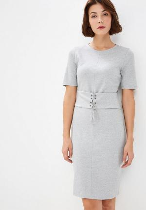 Платье United Colors of Benetton. Цвет: серый
