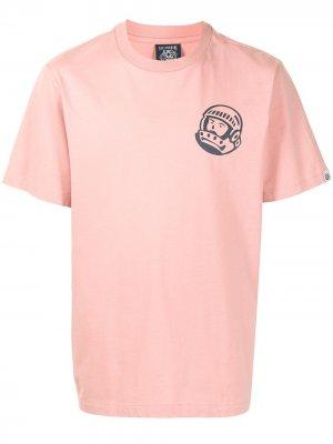 Футболка с принтом Astronaut Billionaire Boys Club. Цвет: розовый