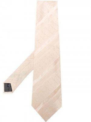 Жаккардовый галстук с геометричным узором 1990-х годов Gianfranco Ferré Pre-Owned. Цвет: нейтральные цвета