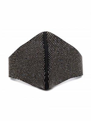 Декорированная маска Alexandre Vauthier. Цвет: черный