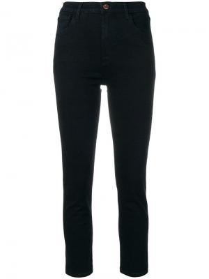 Укороченные джинсы Ruby J Brand. Цвет: синий