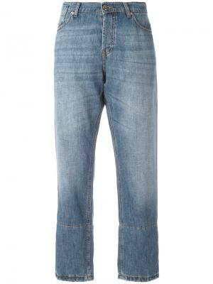 Укороченные джинсы Marni. Цвет: синий