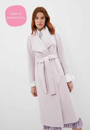 Пальто Ted Baker London. Цвет: розовый