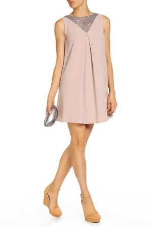Платье Arefeva. Цвет: бежевый
