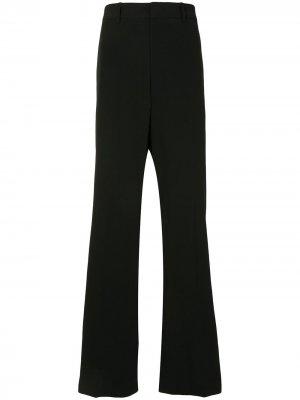 Строгие брюки прямого кроя Wooyoungmi. Цвет: черный