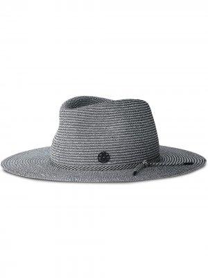 Шляпа-федора Charles Maison Michel. Цвет: черный
