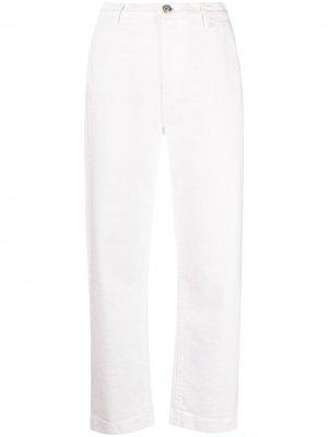 Прямые джинсы 3x1. Цвет: белый