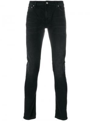 Джинсы скинни Lin Nudie Jeans Co. Цвет: чёрный