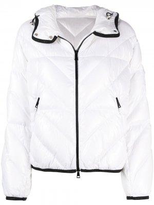 Стеганая куртка Brouel Moncler. Цвет: белый