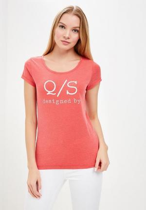 Футболка Q/S designed by. Цвет: красный