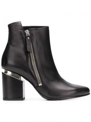 Block heel ankle boots Vic Matie. Цвет: черный
