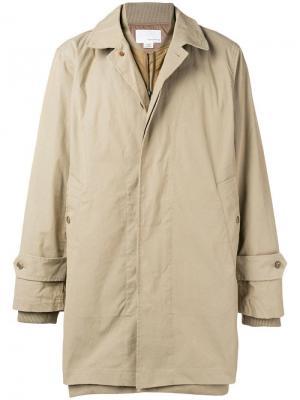 Bomber trench coat Nanamica. Цвет: нейтральные цвета