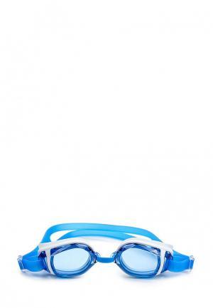 Очки для плавания adidas Performance. Цвет: голубой