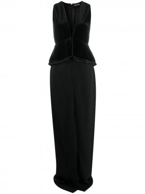 Вечернее платье Tom Ford. Цвет: черный