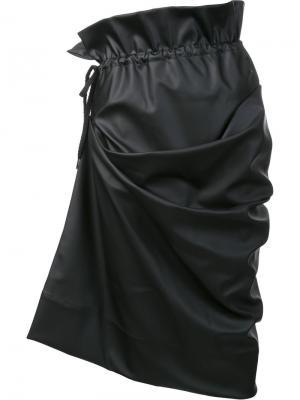 Юбка с кожаным эффектом Andreas Kronthaler For Vivienne Westwood. Цвет: черный