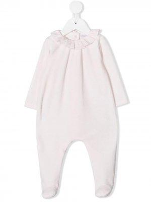 Пижама с оборками Patachou. Цвет: розовый