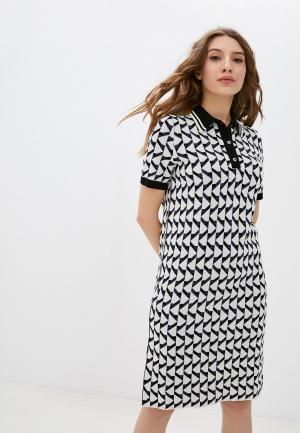 Платье Stefanel. Цвет: разноцветный