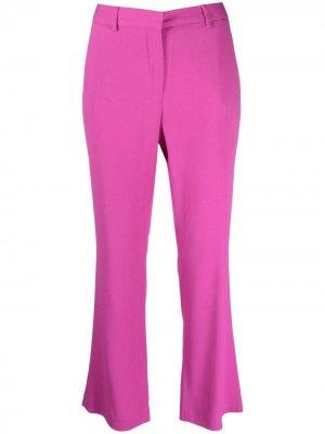LAutre Chose укороченные расклешенные брюки L'Autre. Цвет: розовый