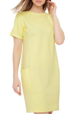 Платье Limonti. Цвет: желтый